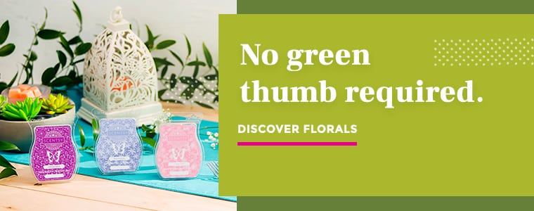 Floral scents now in season!